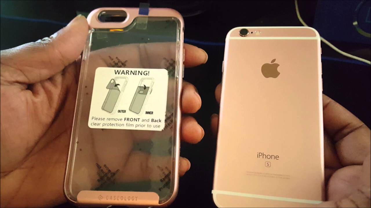 new concept ab6f4 db2af BEST CASE EVER FOR THE ROSE GOLD iPhone 6s!!!!!!!!! #BGTECHLIFE