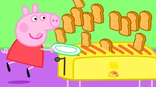 Peppa Pig Official Channel | Peppa Pig's Best Breakfast Club - The Toast Flood!