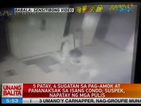 UB: 5 patay, 4 sugatan sa pag-amok at pananaksak sa isang condo sa Pasay