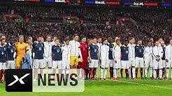 Emotionale Szenen im Wembley-Stadion | England - Frankreich 2:0