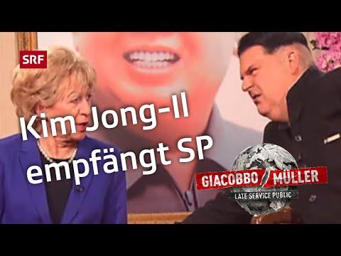 Kim empfängt SP  GiacobboMüller