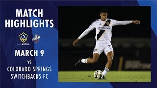 HIGHLIGHTS: LA Galaxy II vs. Colorado Springs Switchbacks FC | March 9, 2019