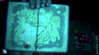Ark Survival Evolved- 12 Water Caves + 6 land caves - xyz and map