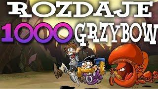 ROZDAJĘ 1.000 GRZYBÓW! - SHAKES AND FIDGET #20