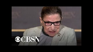 Ruth Bader Ginsburg treated for pancreatic tumor
