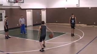 Basketball Pick & Roll: Opposite Post Player