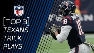 Top 3 Texans Trick Plays | #TrickPlayThursdays | NFL
