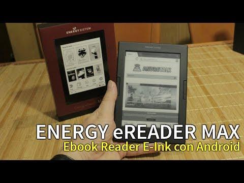 ENERGY EREADER MAX | Ebook Reader E-Ink Con ANDROID