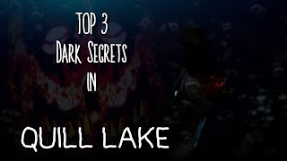 (ROBLOX) Top 3 | Dark Secrets in Scuba Diving in Quill Lake