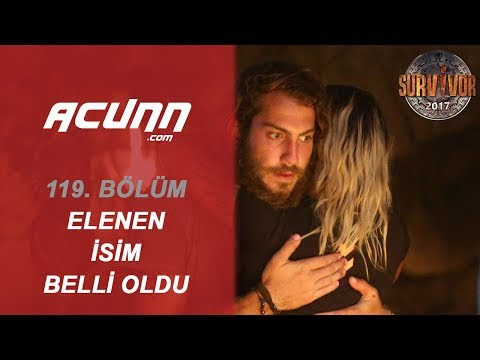 Survivor 2017'ye veda eden isim belli oldu! | 119. Bölüm| Survivor 2017