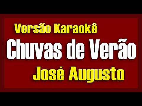 José Augusto - Chuvas de verão - Karaokê