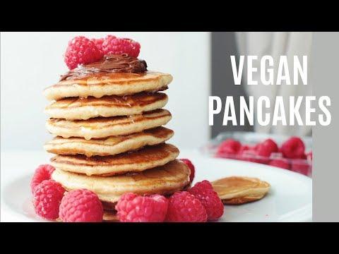 Vegan Pancake Recipe // Mina Rome