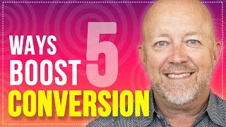 How To Increase Your Website Conversion Rate (Live on Stage)