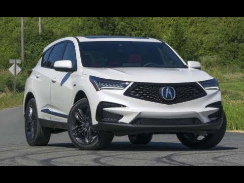 New 2019-2020 Acura RDX New Reviews