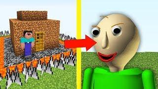 НУБ ПОСТРОИЛ САМЫЙ ЗАЩИЩЕННЫЙ ДОМ МАЙНКРАФТ  НУБ ПРОТИВ БАЛДИ Exe ТРОЛЛИНГ ЛОВУШКА Minecraft Мульт