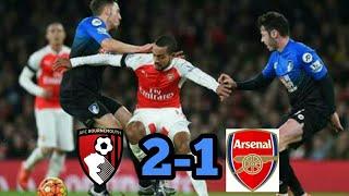 Bournemouth vs Arsenal 1-2 Hasil Liga İnggris Tadi Malam 14-1-2018.