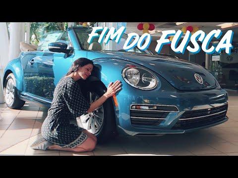 A produção do VW Fusca acabou, mas ainda há modelos 2019 à venda nos EUA
