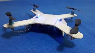 Cómo hacer un Mini Quadcopter - DIY Quadcopter