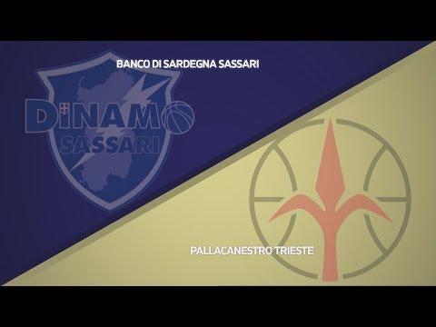 HIGHLIGHTS/ Banco Di Sardegna Sassari - Pallacanestro Trieste 59-65