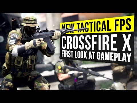 New Tactical FPS Coming in 2020 – Crossfire X First Look at Gameplay!