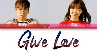 Download Akdong Musician (AKMU) – Give Love (ColorCoded Lyrics Eng/Rom/Han/가사)