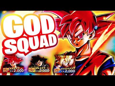 SPARKING SUPER SAIYAN GOD GOKU IS WAY TOO CLEAN!! Dragon Ball DB Legends