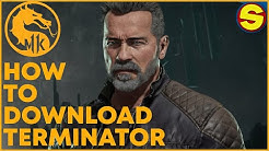 MK11 How to Download Terminator