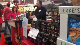 IBIZ World Class Wax Demonstration at Fremont Costco Wholesale