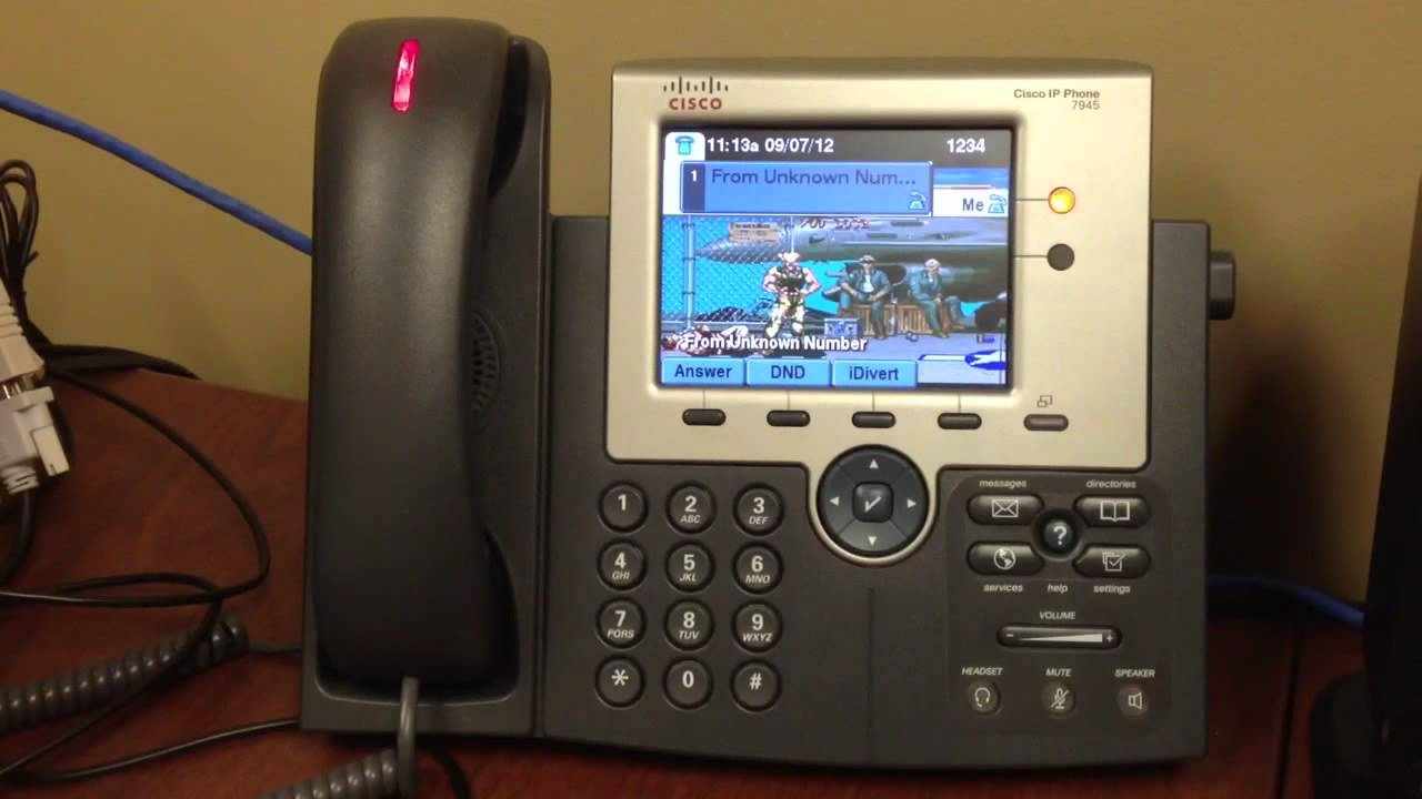 Copy Of Guile Theme Goes With Everything Cisco Voip Phone Youtube