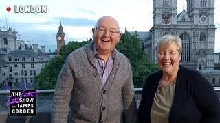 James's Parents Live from Central Hall - #LateLateLondon