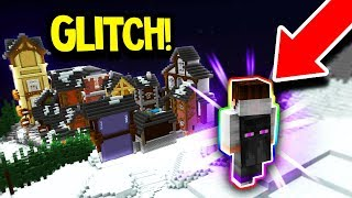 HOW TO GLITCH OUT OF THE MAP! (Minecraft Murder Mystery)