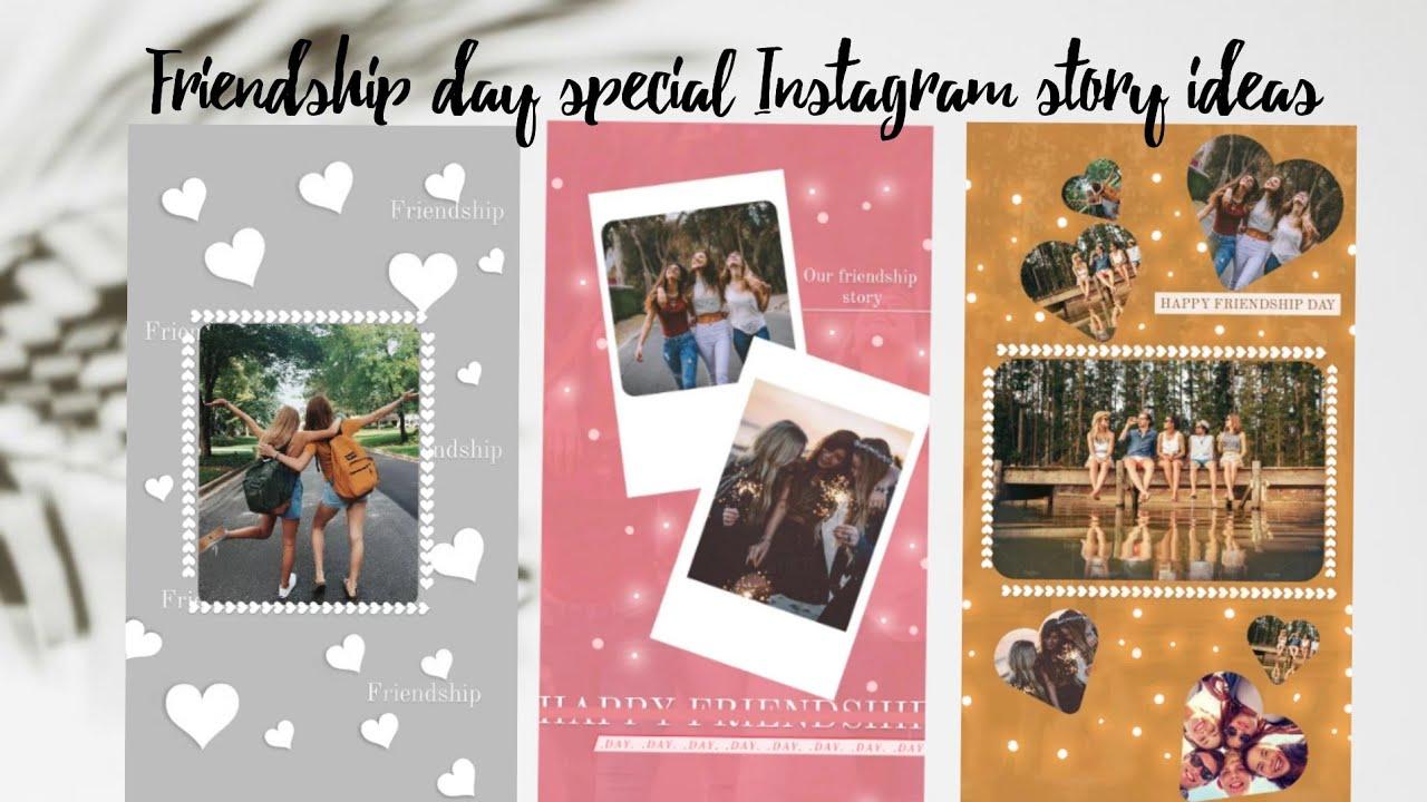 Creative Instagram Story Ideas Friendship day Edition   Using ...