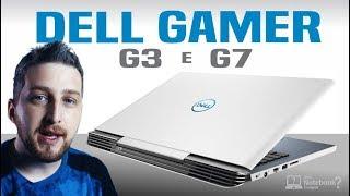 Notebook Dell Gamer 2018 série G3 e G7 com Intel Core 8ª geração H