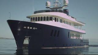 New Zealand With Big Blue Luxury Yacht