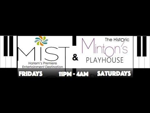 INVITE: JFA Loft After Party | Minton's and Mist | Harlem Late Night Jazz