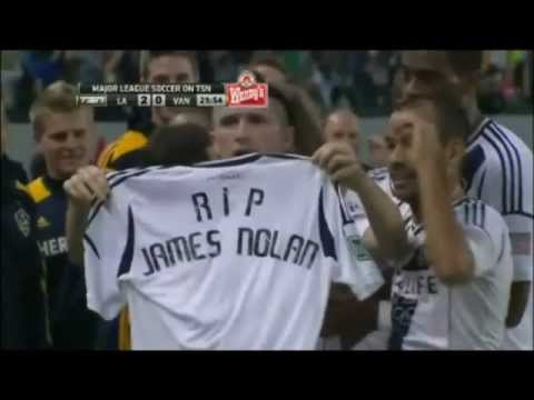 RIP James Nolan. Robbie Keane tribute after LA Galaxy goal. streaming vf