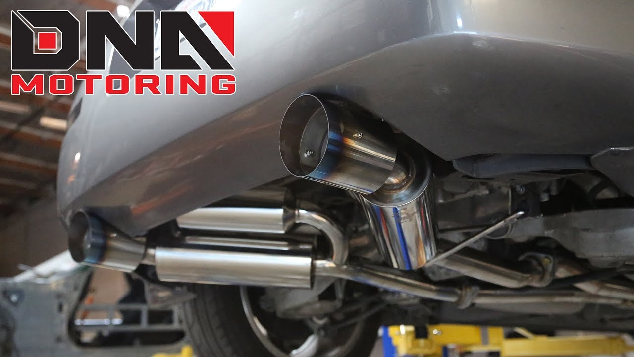 how to install 03 09 nissan 350z z33 infiniti g35 v35 catback exhaust