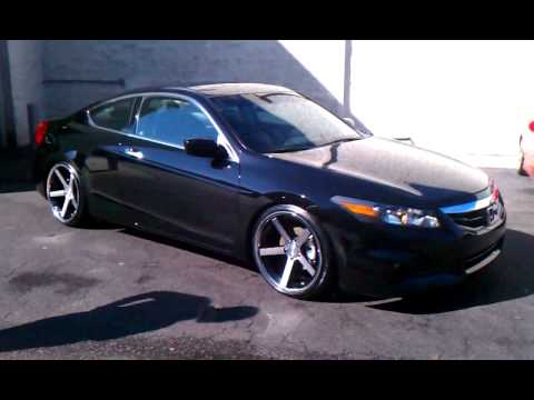 Accord On 20 Quot Stance Wheels Daniels Ride Youtube