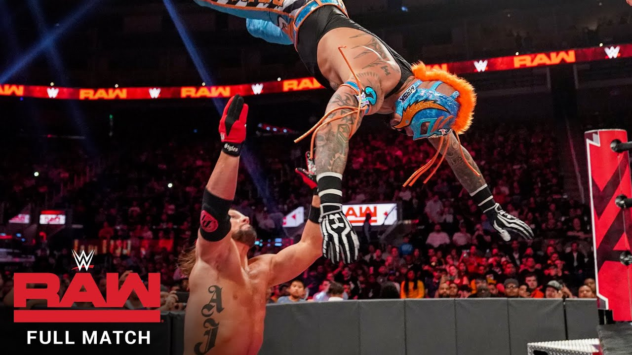 FULL MATCH - Fatal 5-Way Elimination Match: Raw, Sept. 23, 2019