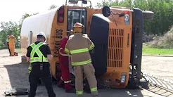 Exercise Combined Strength - Delburne Mock Disaster - May 2016 - Red Deer County Protective Services