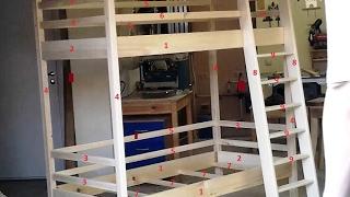 Изготовление детской двухярусной кровати Часть 1(, 2016-05-26T12:40:55.000Z)