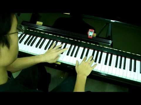 ABRSM Piano 2009-2010 Scales Grade 7 - 8c. Arpeggio in G, A, B, Db, Eb, F Major Root at 76