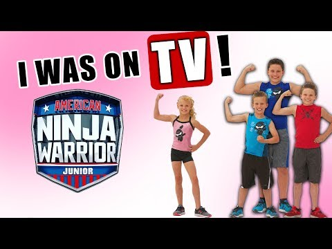 Payton Reacting To American Ninja Warrior Jr!