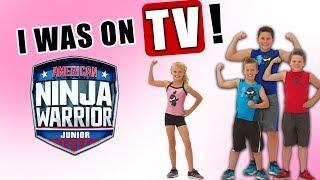Payton reacting to American Ninja Warrior Jr!