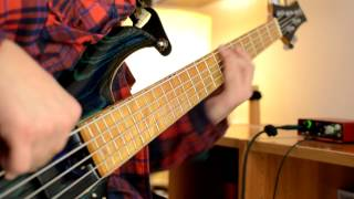 F Bass - BN5  Slap Bass & Solo   (James Brown - Backing Track)