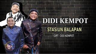 Didi Kempot - Stasiun Balapan ( Official Lyric Video )