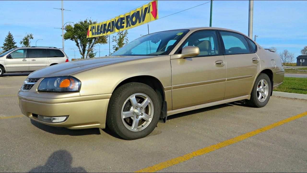 2005 chevrolet impala ls start up walkaround and vehicle. Black Bedroom Furniture Sets. Home Design Ideas