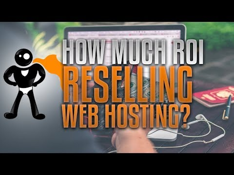 How Much ROI Can You Make Reselling Web Hosting? 599% Monthly?!?!