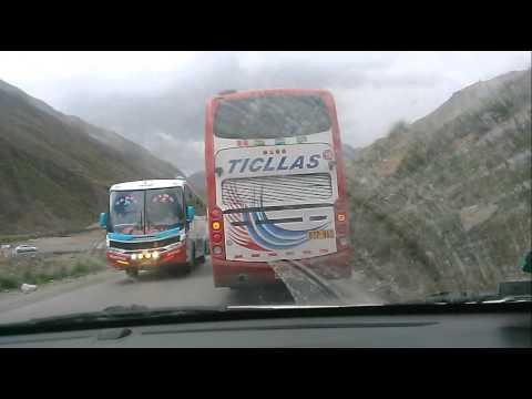 buses del perú ! carretera central