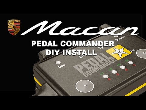 How to install a Pedal Commander on a Porsche Macan